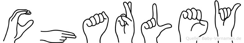 Charley im Fingeralphabet der Deutschen Gebärdensprache