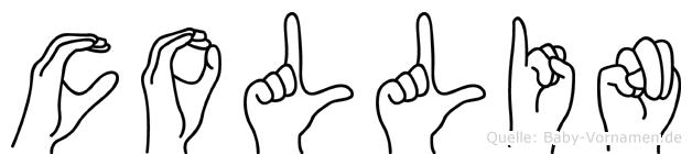 Collin in Fingersprache für Gehörlose