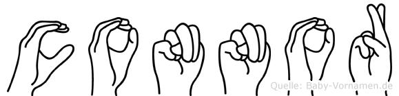 Connor in Fingersprache für Gehörlose