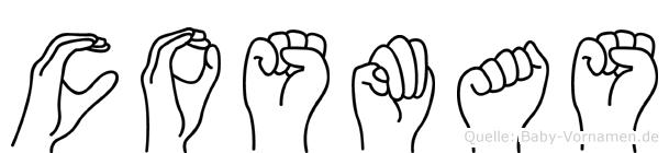 Cosmas in Fingersprache für Gehörlose