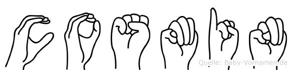Cosmin in Fingersprache für Gehörlose