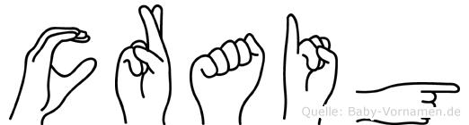 Craig in Fingersprache für Gehörlose