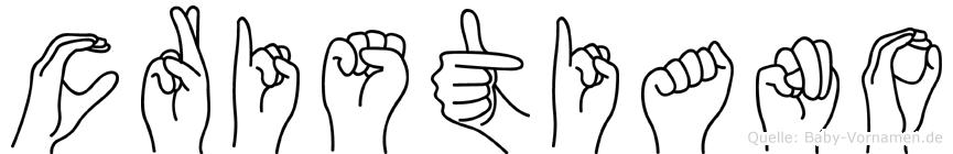 Cristiano in Fingersprache für Gehörlose