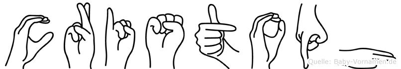 Cristoph in Fingersprache für Gehörlose