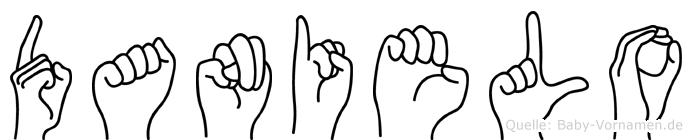 Danielo in Fingersprache für Gehörlose