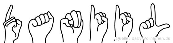 Daniil in Fingersprache für Gehörlose
