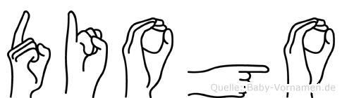 Diogo in Fingersprache für Gehörlose