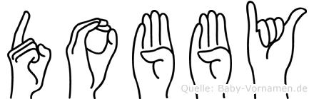 Dobby in Fingersprache für Gehörlose