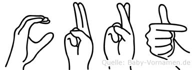 Curt in Fingersprache für Gehörlose