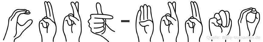 Curt-Bruno im Fingeralphabet der Deutschen Gebärdensprache