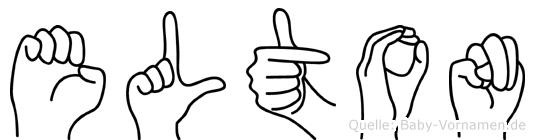 Elton in Fingersprache für Gehörlose