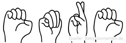 Emre in Fingersprache für Gehörlose