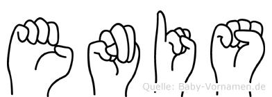Enis in Fingersprache für Gehörlose
