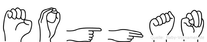 Eoghan in Fingersprache für Gehörlose