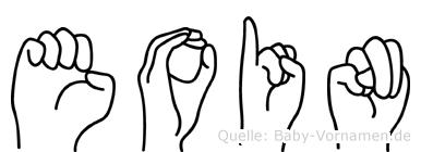 Eoin in Fingersprache für Gehörlose
