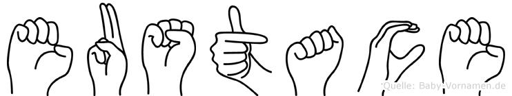 Eustace in Fingersprache für Gehörlose