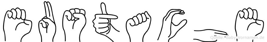 Eustache in Fingersprache für Gehörlose