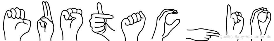Eustachio in Fingersprache für Gehörlose