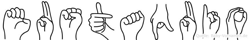 Eustaquio in Fingersprache für Gehörlose