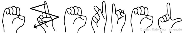 Ezekiel in Fingersprache für Gehörlose