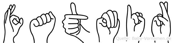 Fatmir in Fingersprache für Gehörlose