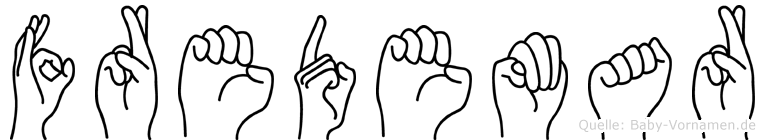 Fredemar in Fingersprache für Gehörlose