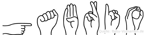 Gabrio in Fingersprache für Gehörlose