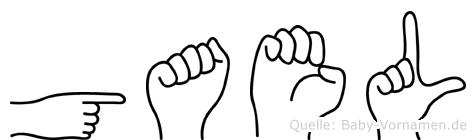 Gael in Fingersprache für Gehörlose