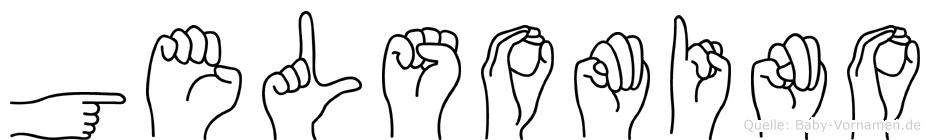 Gelsomino in Fingersprache für Gehörlose