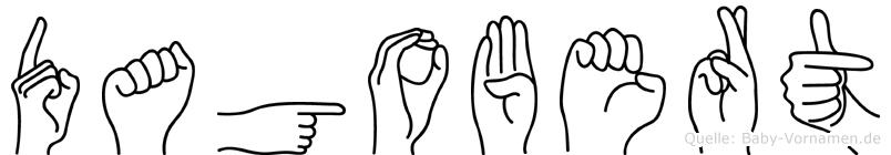 Dagobert in Fingersprache für Gehörlose