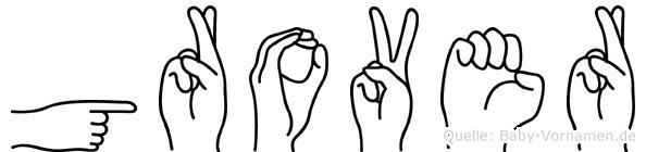 Grover in Fingersprache für Gehörlose