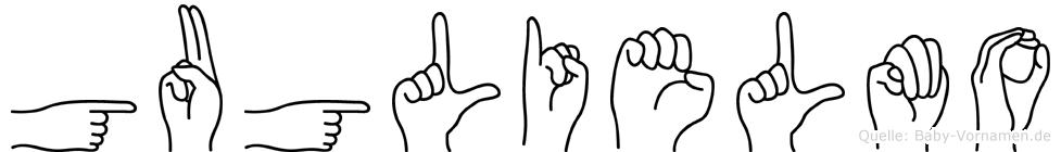 Guglielmo im Fingeralphabet der Deutschen Gebärdensprache