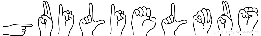 Guilielmus in Fingersprache für Gehörlose