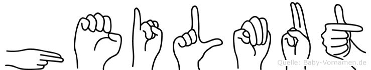 Heilmut in Fingersprache für Gehörlose