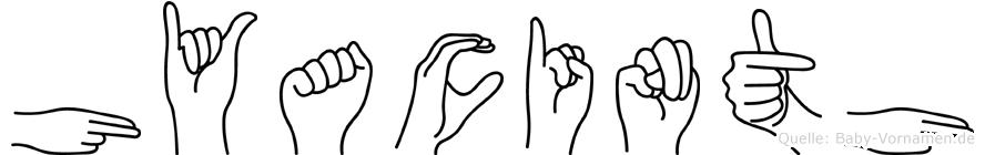 Hyacinth in Fingersprache für Gehörlose