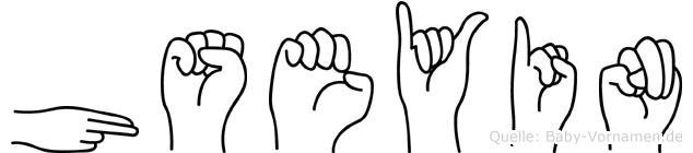 Hüseyin in Fingersprache für Gehörlose