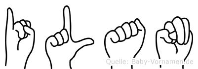 Ilan in Fingersprache für Gehörlose