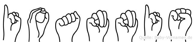 Ioannis in Fingersprache für Gehörlose