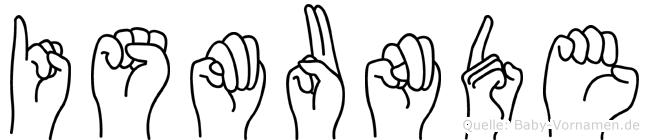 Ismunde in Fingersprache für Gehörlose