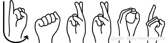 Jarrod in Fingersprache für Gehörlose
