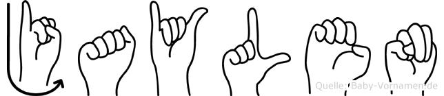 Jaylen in Fingersprache für Gehörlose