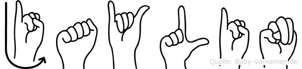 Jaylin in Fingersprache für Gehörlose