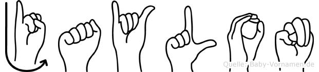 Jaylon in Fingersprache für Gehörlose