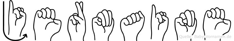 Jermaine in Fingersprache für Gehörlose