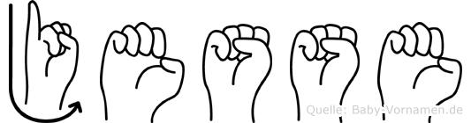 Jesse in Fingersprache für Gehörlose