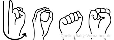 Joas in Fingersprache für Gehörlose