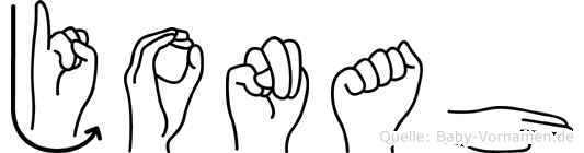 Jonah in Fingersprache für Gehörlose