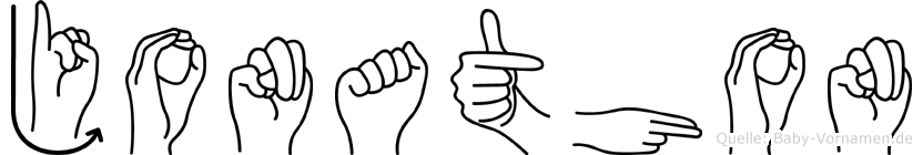 Jonathon in Fingersprache für Gehörlose