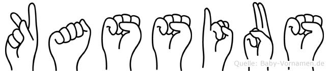 Kassius in Fingersprache für Gehörlose