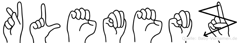Klemenz in Fingersprache für Gehörlose